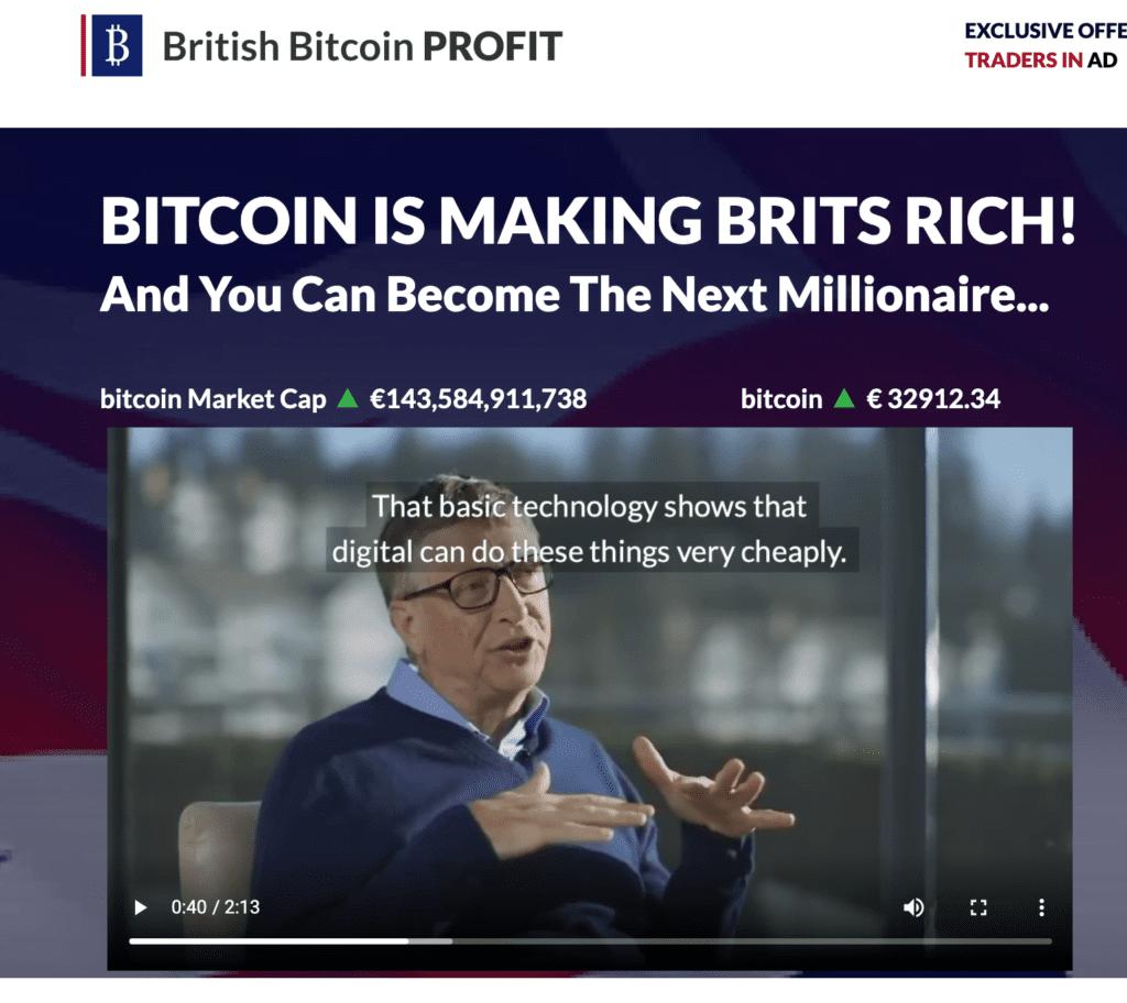 Bitcoin Profit scam