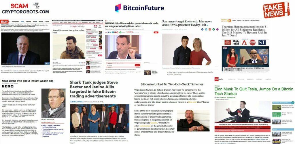 Bitcoin Future fake news